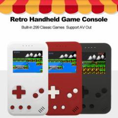 ハンディー レトロゲームコンソール 299クラシックゲーム内蔵
