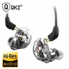 インラインリモコン付き ハイレゾ スケルトン 4DD リケーブル インイヤーイヤホン Hi-Res