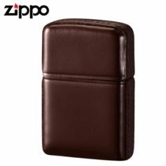 zippo ジッポーライター 松阪牛レザー ブラウン