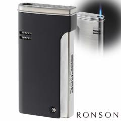 RONSON ロンソン ガスライター ロンジェット バーナーフレームライター R29-0003 黒マット