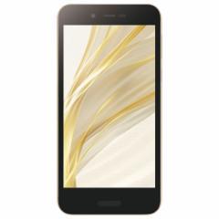 シャープ SH-M05-N(ゴールド) AQUOS sense lite SIMフリー LTE対応 32GB