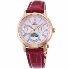 オリエント RN-KA0001A(ホワイト 白蝶貝) クラシック クオーツ 腕時計(レディース)