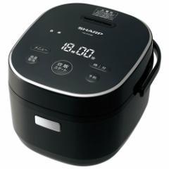 シャープ KS-CF05B-B(ブラック) ジャー炊飯器 3合