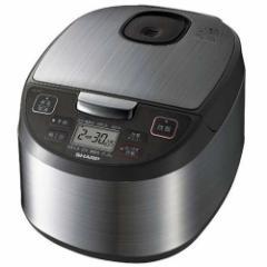 シャープ KS-S10J-S(シルバー) ジャー炊飯器 5.5合