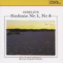 クルト・ザンデルリンク/シベリウス:交響曲 第1番・第6番 【CD】