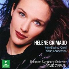 エレーヌ・グリモー/ラヴェル&ガーシュウィン:ピアノ協奏曲 【CD】