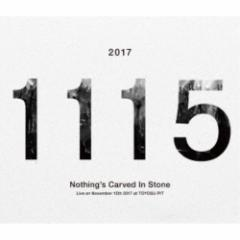 Nothing's Carved In Stone/Live on November 15th 2017 at TOYOSU PIT 【Blu-ray】