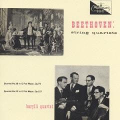 バリリ四重奏団/ベートーヴェン〜弦楽四重奏曲第10番「ハープ」・第12番 【CD】