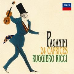 ルッジェーロ・リッチ/パガニーニ:24のカプリース 【CD】