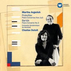 マルタ・アルゲリッチ/プロコフィエフ:ピアノ協奏曲 第1番&第3番 バルトーク:ピアノ協奏曲 第3番 【CD】