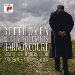 ニコラウス・アーノンクール/ベートーヴェン:ミサ・ソレムニス 2015年ライヴ 【CD】