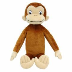 送料無料 おさるのジョージ ぬいぐるみ ジョージ L おもちゃ こども 子供 女の子 ぬいぐるみ 3歳