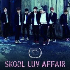 防彈少年團/SKOOL LUV AFFAIR 【CD+DVD】