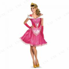 DXオーロラ姫ドレス ファブ 大人用 M(8-10) 仮装 衣装 コスプレ ハロウィン 余興 大人 パーティー ドレス コスチューム ディズニープリン
