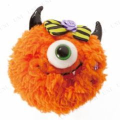 オレンジモンスターアクセ ハロウィン 衣装 プチ仮装 変装グッズ コスプレ パーティーグッズ ヘアアクセサリー ヘアクリップ ヘ