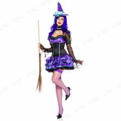 !! ワンダー・ウィッチ SM 仮装 衣装 コスプレ ハロウィン 余興 大人 可愛い 魔女 コスチューム 大人用 女性用 レディース パーティーグ