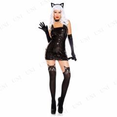 セクシーキャット XS 仮装 衣装 コスプレ ハロウィン 余興 大人 セクシー コスチューム アニマル 動物 大人用 女性用 レディース パーテ