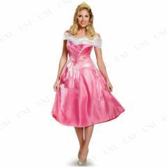 オーロラ姫ドレスDX 大人用 S(4-6) 仮装 衣装 コスプレ ハロウィン 余興 大人 パーティー ドレス コスチューム ディズニープリンセス グ