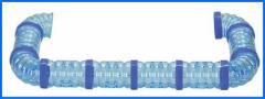 [三晃商会]ハムポット用パイプセットサイドTOサイド(ブルー)