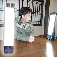 最大15倍 ブライトアップクロック2  光目覚まし装置 白色光で爽やかな目覚め ■実際使用しました■ 購入者からの紹介も多い