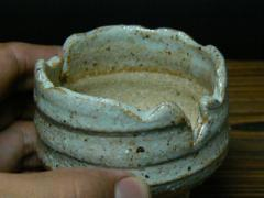 信楽白釉鉢