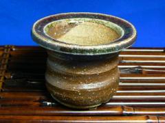 信楽紅淵鉢