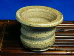 信楽白淵鉢