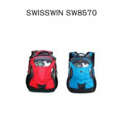【送料無料】SWISSWIN スイスウィン リュック SW8570☆多機能 バックパック 人気 リュックサック★軽量 男女兼用★ 大容量