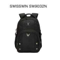 【送料無料】SWISSWIN スイスウィン リュック SW9032N☆多機能 バックパック 人気 リュックサック★軽量 男女兼用★ 大容量