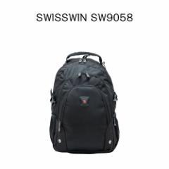 【送料無料】SWISSWIN スイスウィン リュック SW9058☆多機能 バックパック 人気 リュックサック★軽量 男女兼用★ 大容量