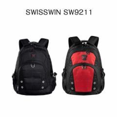 【送料無料】SWISSWIN スイスウィン リュック  SW9211☆多機能 バックパック 人気 リュックサック★軽量 男女兼用★ 大容量