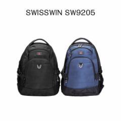 【送料無料】SWISSWIN スイスウィン リュック  SW9205☆多機能 バックパック 人気 リュックサック★軽量 男女兼用★ 大容量