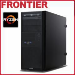 フロンティア デスクトップパソコン [Windows10 Ryzen7-1700X 16GB  275GB SSD  2TB HDD GTX1080 8GB] FRGAR170X E3【新品】【FR】
