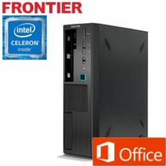 【ポイント10倍】デスクトップパソコン [Windows10 Celeron G3930 4GB メモリ 500GB HDD MS Office] FRFSH11075 E2 【新品】【FR】