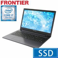 フロンティア ノートパソコン [Windows10 i7-7500U 16GB  275GB SSD  500GB HDD 無線LAN] FRNLK770 E5【新品】【FR】