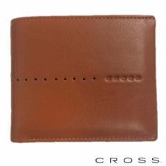 クロス CROSS ウォレット 財布 メンズ 二つ折り財布 ショート 札入れ NUEVA ブラウン AC-188371-25 即納