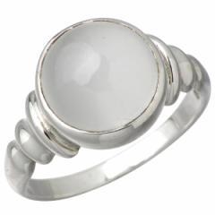 アイジェルナ Ijeluna リング 指輪 レディース シルバー 10mmムーンストーン 7〜13号ストーン IJ-044RS-MS