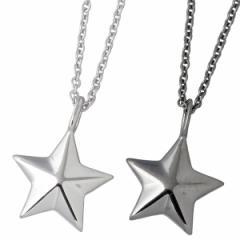 ララクリスティー LARA Christie シルバー ペア ネックレス ステラ ブラック ホワイト スター 星 LA-P5714-P 送料無料