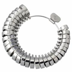 MKS明工舎 メイコー平打リングサイズゲージ リングゲージ 指輪ゲージ 指輪のサイズ測定機器 1〜30号 幅の太いリング用 全国標準規格