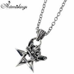 アルテミス キングス Artemis Kings 王冠 五芒星 シルバー ネックレス AKP0120AKCN0011