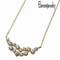 エレノアジュエリー Elenore Jewelry シルバー ネックレス レディース スパーク リング ホワイトトパーズ ギフト プレゼント おしゃれ EL