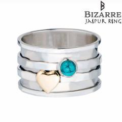 ジャイプール リング JAIPUR RINGシルバー リング 指輪 レディース メンズ ターコイズ ハート