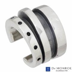 ドクターモンロー Dr MONROE シルバー イヤーカフ ホイール リング 1個売り 片耳用 メンズ レディース EC-17-SV