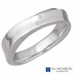 ドクターモンロー Dr MONROE シルバー リング 指輪 ミドル ストリーム シンプル 7〜23号 メンズ レディース FC-282-SV