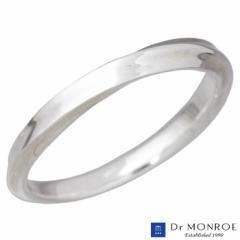 ドクターモンロー Dr MONROE シルバー リング 指輪 ナロー メビウス シンプル 7〜23号 メンズ レディース FC-283-SV