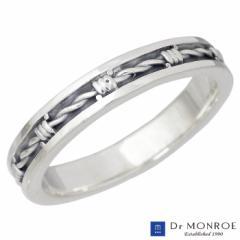 ドクターモンロー Dr MONROE シルバー リング 指輪 有刺鉄線 7〜23号 メンズ レディース FC-285-SV