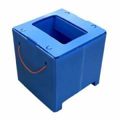 簡易トイレ 組立式便器 【2個セット】 和式トイレ対応 プラスチック製ダンボール 日本製 『マイレット W(ワイド) トイレ』 メーカーより