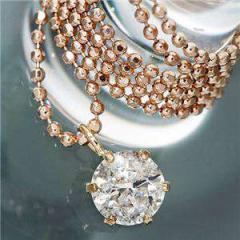 K18 PG 0.4ct ダイヤモンド ペンダント ネックレス メーカーより直送いたします ※沖縄・離島への配送はできません ds-405129