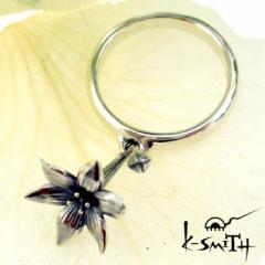ケースミス K-SMITH バースデー フラワー シルバー リング 指輪 11月ブバルディア Birthday Flower Ring KF-RING-11