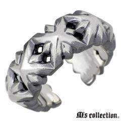 エムズコレクション M's collection シルバー リング セブン スタッズ フリー メンズ 指輪 15〜23号 XR-025 送料無料